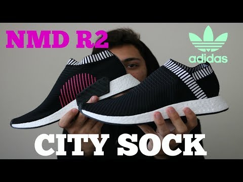 info for 94daf 6db2f ADIDAS NMD CS2 PK CORE BLACK CITY SOCK R2 REVIEW - YouTube