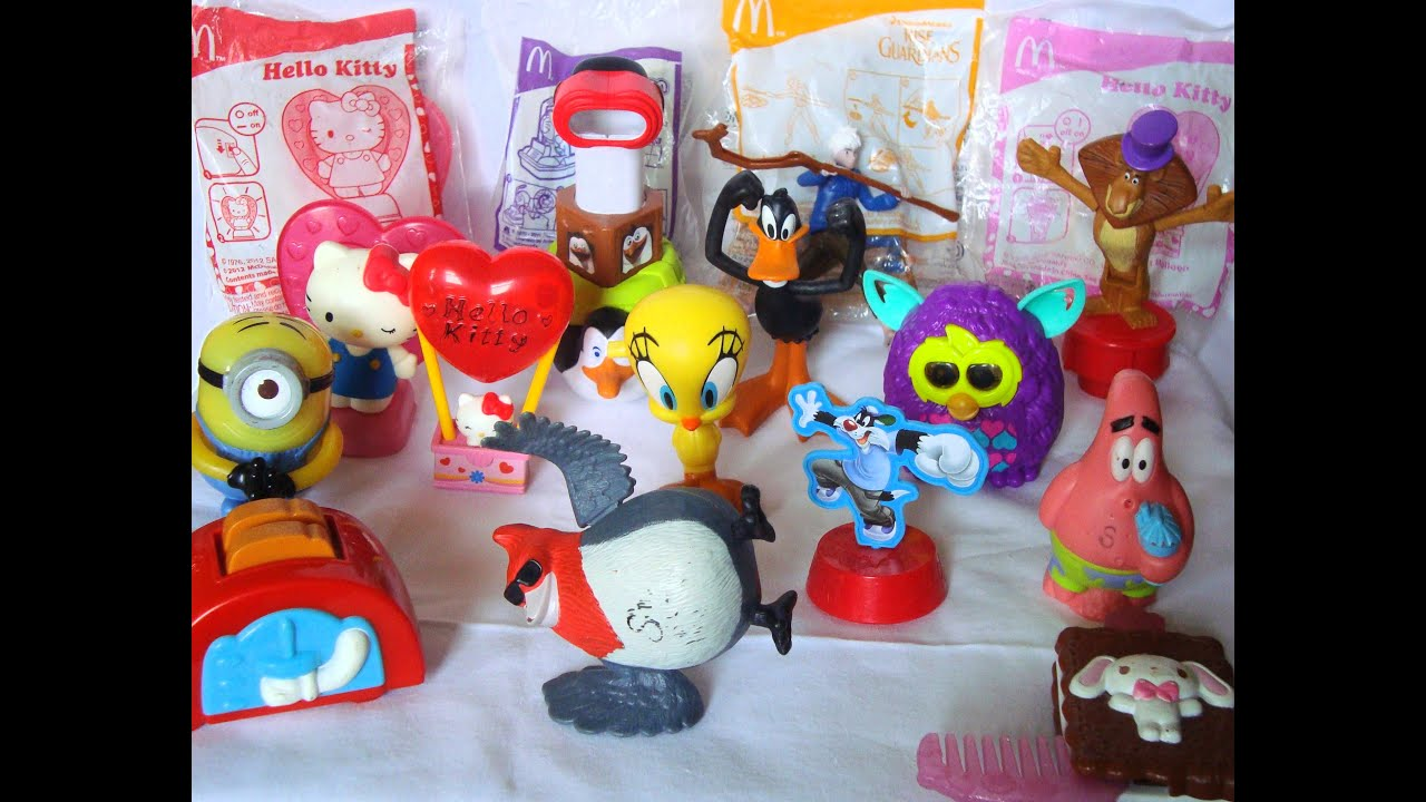Toys From Mcdonald S Happy Meals : Mcdonalds happy meal toys india youtube