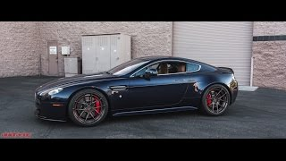 Aston Martin Vantage S Lowered on KW Coilovers | ADV1 Wheels