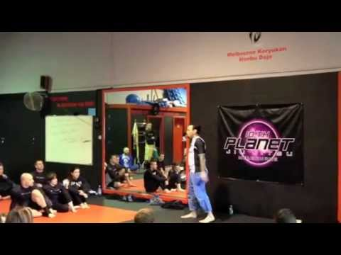 Frank Barca gets his brownie from Eddie Bravo