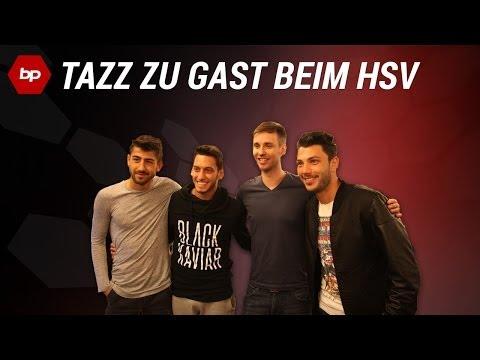 TaZz zu Gast beim HSV! Spiel gegen Hakan Calhanoglu!