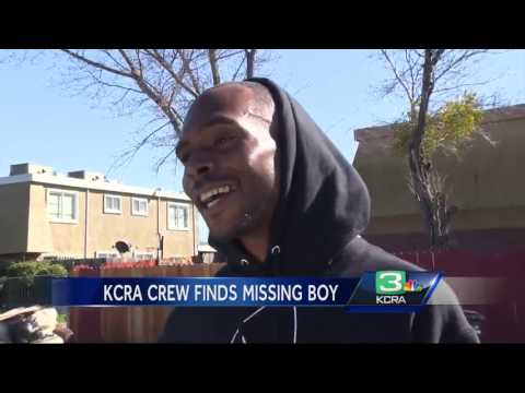 South Sacramento boy found after missing for 18 hours
