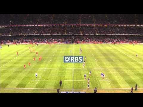 Wales vs France [ENGLISH] - 21th February 2014 - Full Game HD - Six Nations Championship