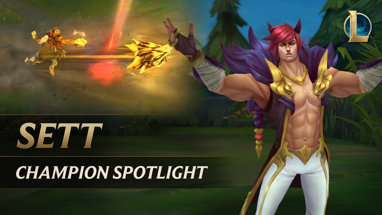 Sett Champion Spotlight | Gameplay - League of Legends thumbnail