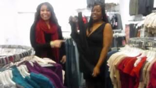 Jordin Sparks picks out size 8 dress for Fabiola