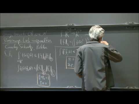 Structural and computational aspects of Brascamp-Lieb inequalities - Avi Wigderson