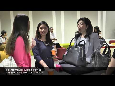 Event highlight clip of PR Newswire's Singapore Media Coffee event on May 12, 2017