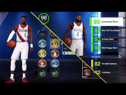 NBA Live 18 The One Career | Showing All Attributes and Animations | Wishlist Fixes For Live 19