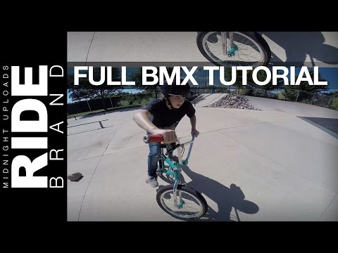 HOW TO START RIDING & GET INTO BMX - FULL KIDS TUTORIAL