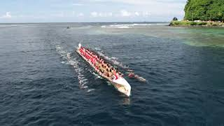 Fautasi_Race_2019_American Samoa Flag Day