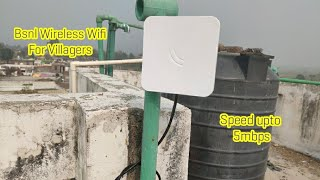 Bsnl New Wireless Wifi Connection   Wifi Connection Available In Jammu Kashmir   India