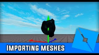 Roblox Studio || How To Import Meshes Made In Blender