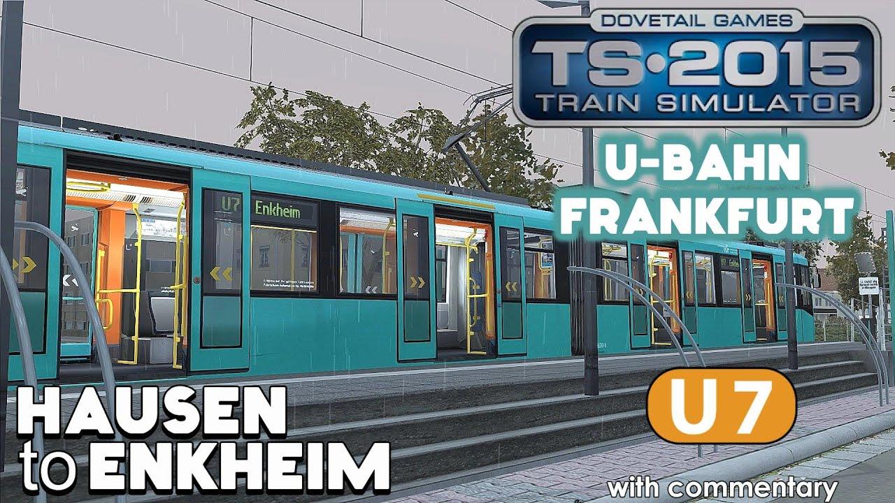 train simulator 2015 lets play frankfurt u bahn u7 hausen to enkheim youtube. Black Bedroom Furniture Sets. Home Design Ideas