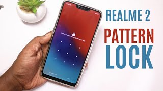 How to set Pattern lock in Realme 2 in Hindi