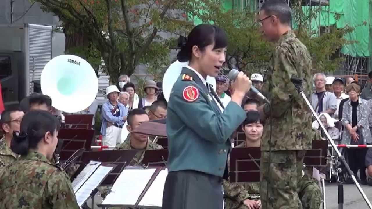 陸上自衛隊 鶫真衣陸士長(当時...