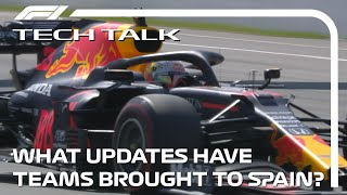 What Updates Have Teams Brought To Barcelona? | Tech Talk | 2020 Spanish Grand Prix