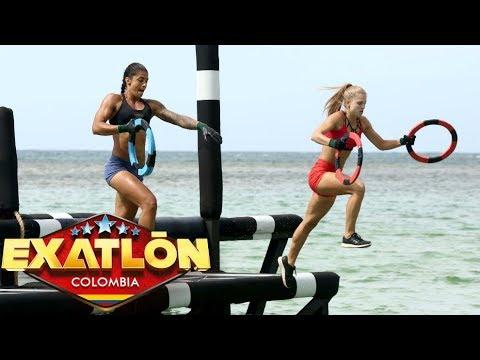 El equipo rojo logró un nuevo empate | Exatlón Colombia