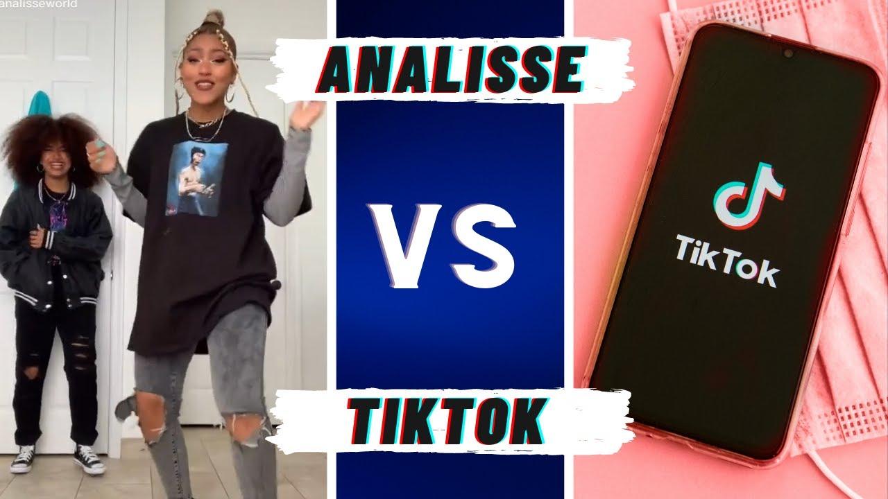 AnalisseWorld VS TikTokers ~ Best TikTok Dance Battle Compilation