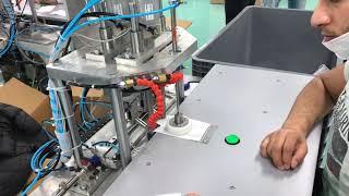 Yarı Otomatik Maske Lastik Makinesi