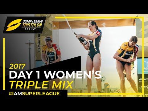 Super League Jersey: FULL Women's Race Day 1 Triple Mix