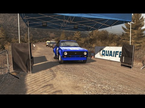 Ford Escort Mk 2 in Greece | Dirt Rally PC | Driver's POV | 720p60 |