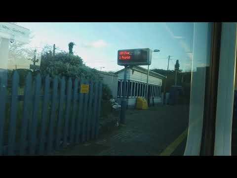 Train journey from Laytown to Balbriggan