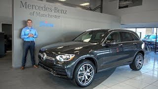 NEW 2020 Mercedes-Benz GLC 300 4MATIC tour with Austin