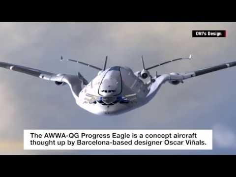 Amazing !! Prototype Design Future Aircraft Triple Deck
