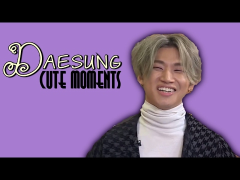 Daesung Cute and Funny Moments