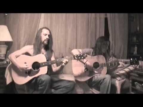 Long Haired Country Boy Randy Schartiger & son