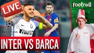 OGLĄDAMY Inter Mediolan vs FC Barcelona (bez widoku meczu) #LigaMistrzow - Na żywo