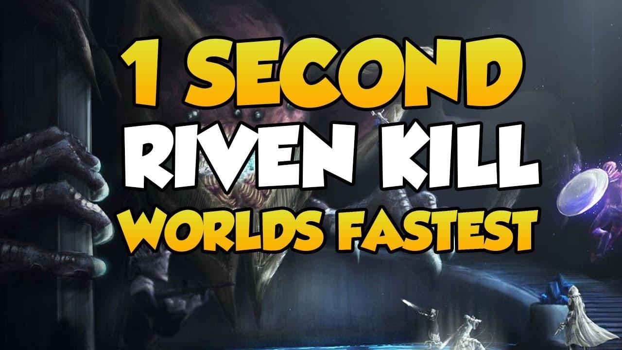 WORLDS FASTEST RIVEN KILL 1 SECOND!! [Destiny 2]