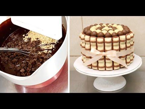 kinder-brownie-chocolate-cake---how-to-make-by-cakes-stepbystep