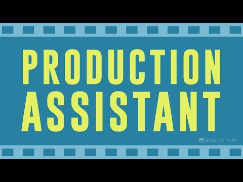 Production Assistant Duties Every PA Should Know #production Assistant