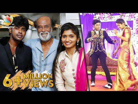 Dancer Sandy's Special Performance in his Wedding Reception   Rajinikanth   Celebrity Marriage