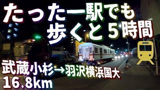 開業前夜に武蔵小杉~羽沢間の一駅間「だけ」歩いた男の記録