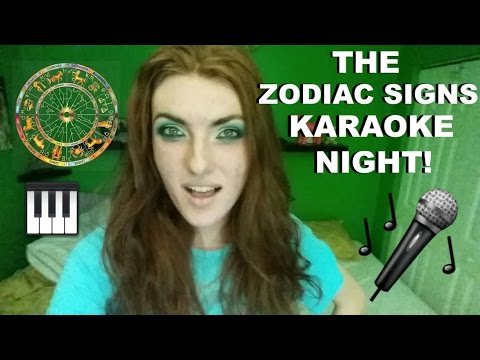 The Zodiac Signs Karaoke Night