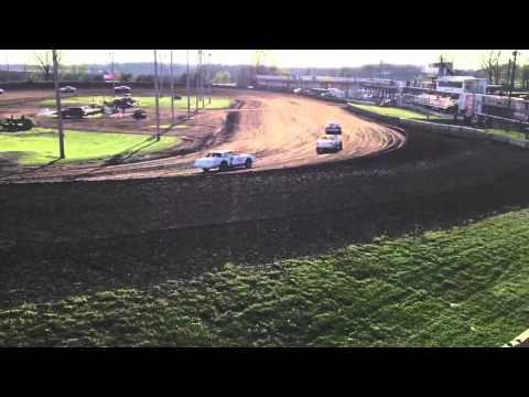 Boone Speedway Stock Car Hot Laps 4-23-16