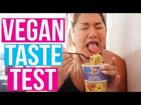 VEGAN TASTE TEST!!