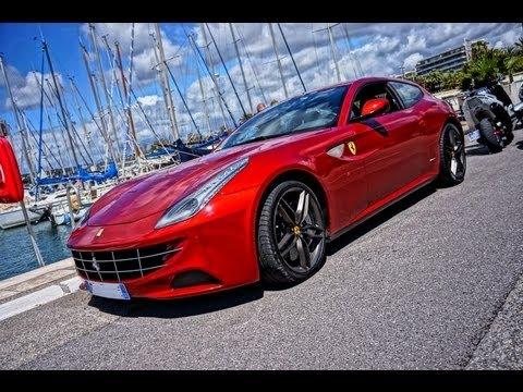 Ferrari FF - LOUD V12 startup sound!