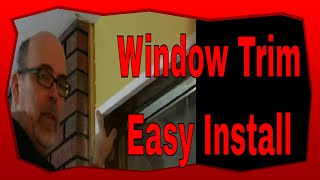 How To Install Interior Window Trim, Carpentry Basic Tips And Tricks