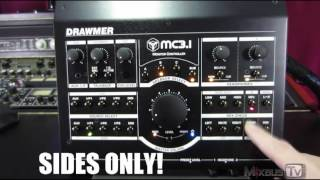 Drawmer MC 3.1 Monitor Controller Review and Mixing options in action