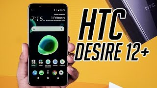 HTC Desire 12+ :First Look   Hands on   Price   [Hindi-हिन्दी]