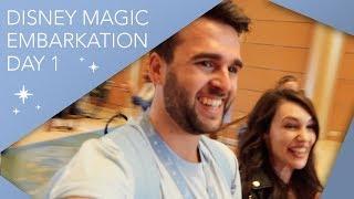 One of Adam Hattan's most viewed videos: Disney Magic Embarkation | Day 1 | Disney Cruise Line Vlog | September 2019 | Adam Hattan