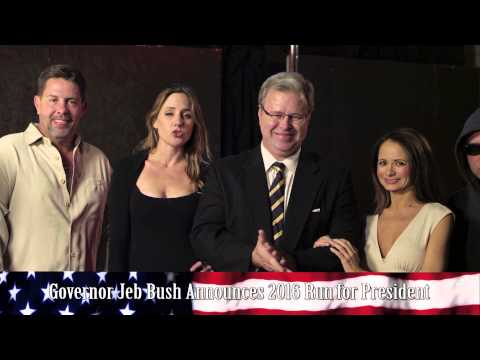 Jeb Bush announces 2016 run for President.