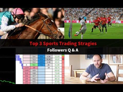 Trading sports strategies