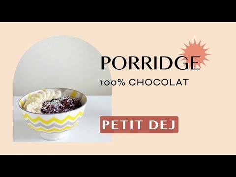 Porridge 100 % chocolat - EAT HEALTHY -