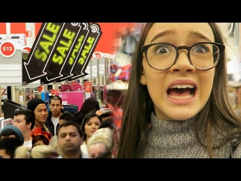Black Friday Shopping Experience + Try On | Shopping & Hauls | Vlogging with Fiona
