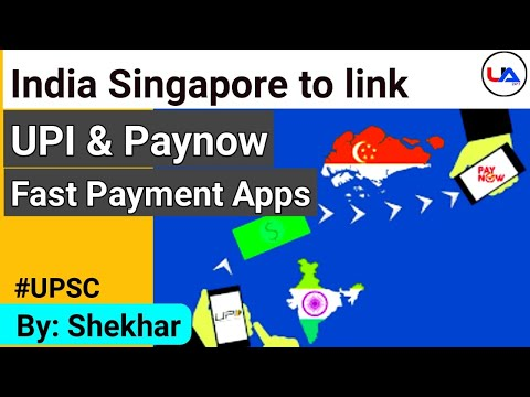 India and Singapore to link their fast Payment system UPI and Paynow #UPSC #CurrentAffairs2021 #IAS