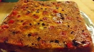 (bilingual) Spanish Festive Fruit Cake